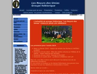 lesnocurs.ouvaton.org screenshot