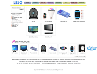 lesogroup.com screenshot