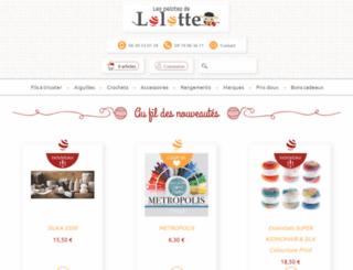 lespelotesdelolotte.com screenshot