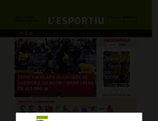 lesportiudecatalunya.cat screenshot