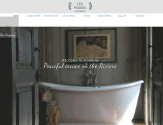 lesrosees.com screenshot
