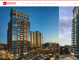 lessarddesign.com screenshot