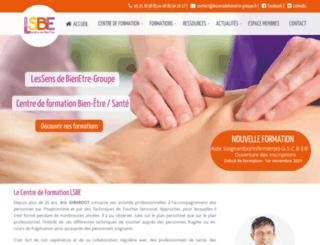 lessens-de-bienetre.com screenshot