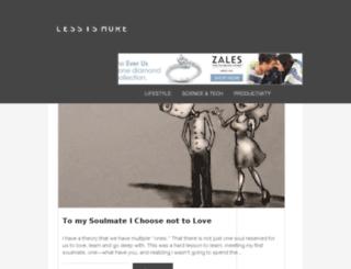 lessism0re.com screenshot