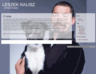 leszekkalisz.pl screenshot
