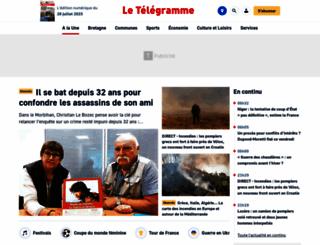 letelegramme.com screenshot