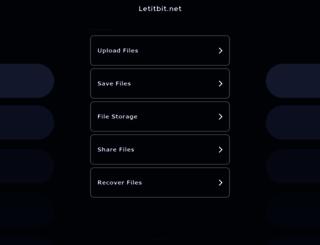 letitbit.net screenshot