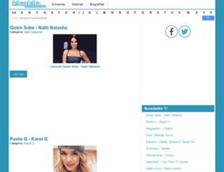 letrayletra.com screenshot