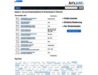 letsjob.at screenshot