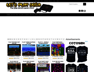 letsplaysega.com screenshot