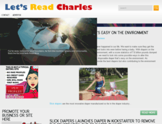 letsreadcharles.com screenshot