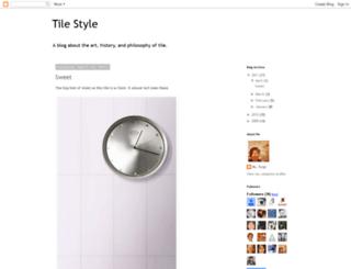 letstalktile.blogspot.com screenshot