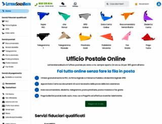 letterasenzabusta.com screenshot