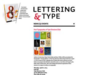 letteringandtype.com screenshot