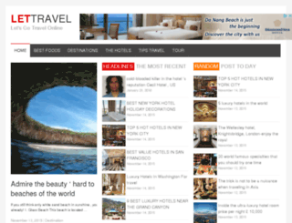 lettravel.net screenshot