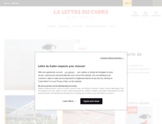 lettreducadre.fr screenshot