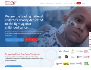 leukaemia.org screenshot