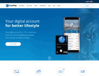 leupay.eu screenshot