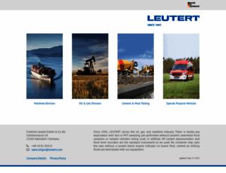 leutert.com screenshot