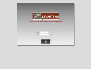 levanteud.auditmedia.es screenshot