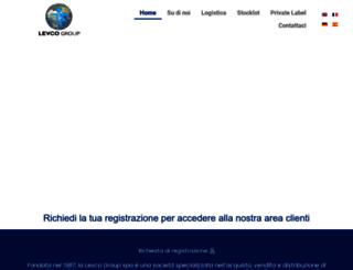 levcogroup.it screenshot