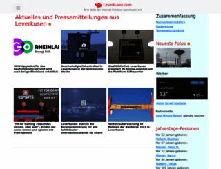 leverkusen.com screenshot