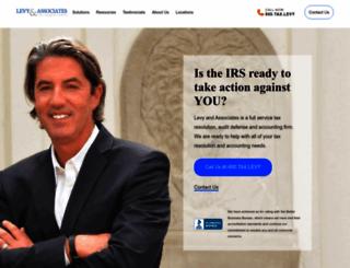 levytaxhelp.com screenshot