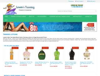 lewiestanning.com screenshot