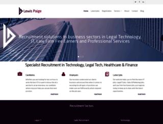 lewispaige.com screenshot