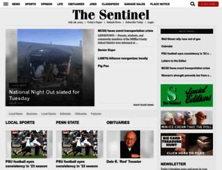 lewistownsentinel.com screenshot