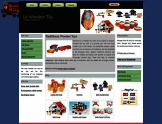 lewoodentoy.co.uk screenshot