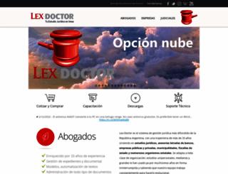lex-doctor.com screenshot