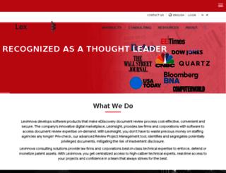 lex-innova.com screenshot