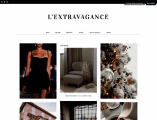 lextravagance.tumblr.com screenshot