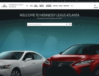 lexusatlanta.com screenshot