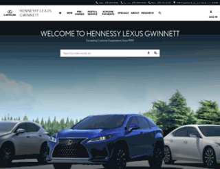 lexusgwinnett.com screenshot
