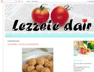 lezzetedairnevarsa.blogspot.com screenshot