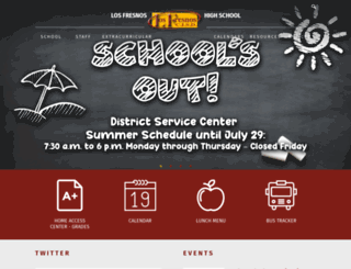 lfhs.lfcisd.net screenshot