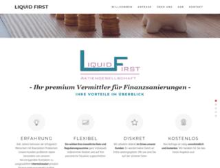 lfirst-ag.ch screenshot