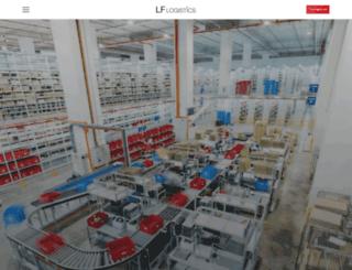 lflogistics.com screenshot