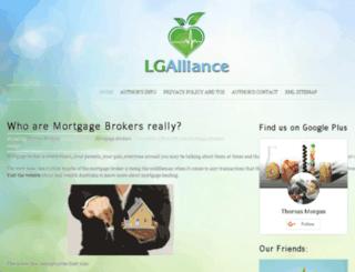 lg-alliance.org screenshot