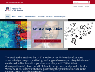lgbt.arizona.edu screenshot