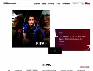 lgnewsroom.com screenshot