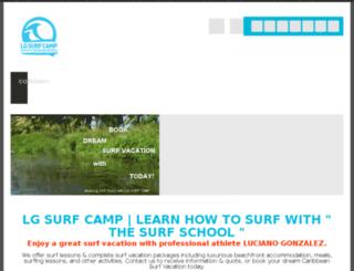 lgsurfcamp.com screenshot