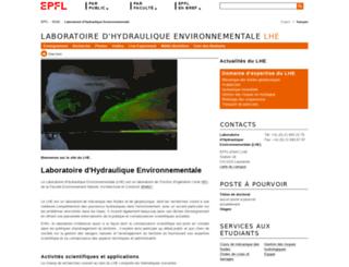 lhe.epfl.ch screenshot