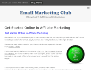 lhemailmarketingclub.com screenshot