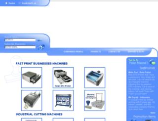 lhmachinery.netbuilder.biz screenshot