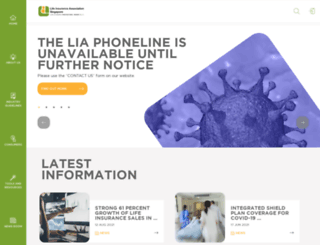 lia.org.sg screenshot
