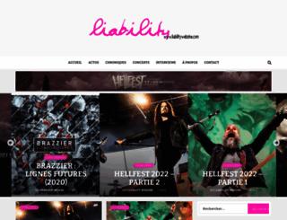 liabilitywebzine.com screenshot