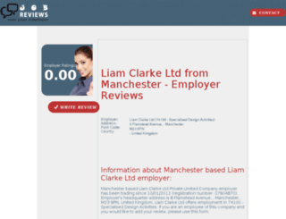 liam-clarke-ltd.job-reviews.co.uk screenshot